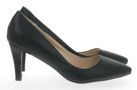 Black Bova Stilettos - Shoes 1