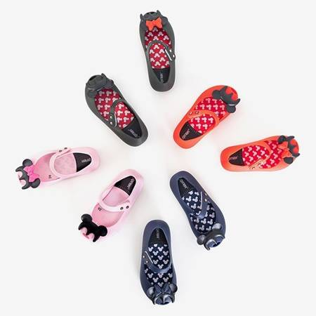 Black children's meliski with Blanka decorations - Footwear
