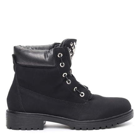 Black insulated Monah boots