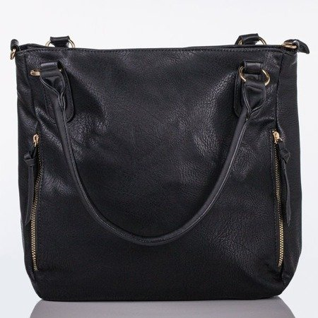 Black large shoulder bag - Handbags 1