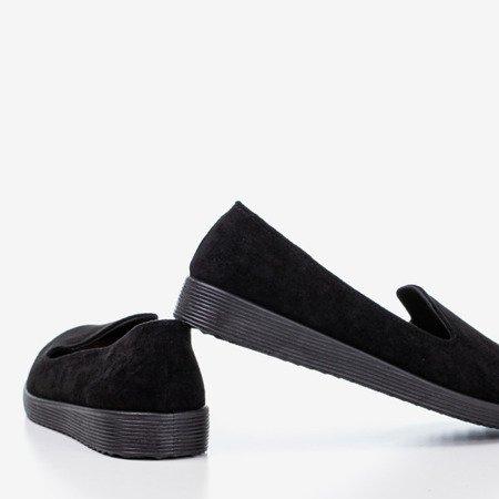 Black loafers Isyda - Footwear 1
