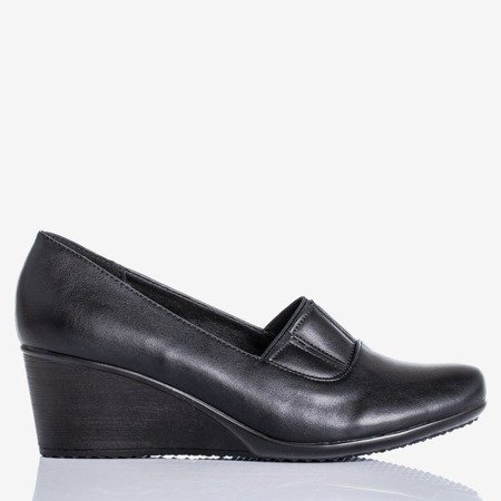 Black wedge heels Maranas - Footwear