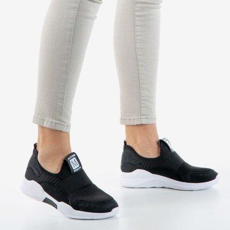 Black women's Carsola mesh sports shoes - Footwear 1