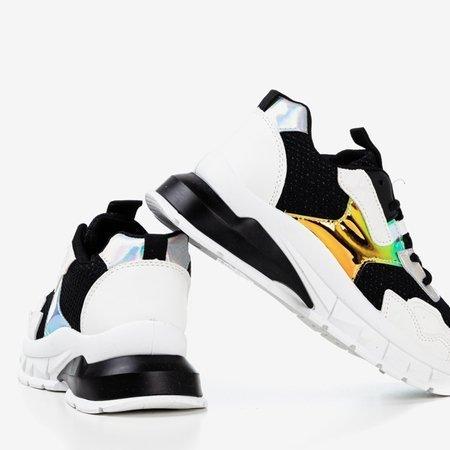 Black women's spring sneakers - Footwear 1