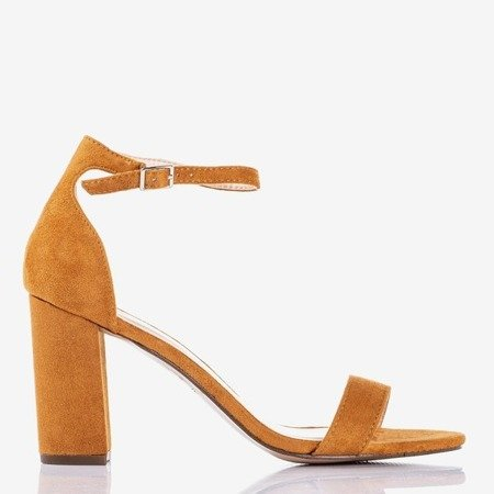 Brown women's sandals on a post Sweet Honey - Footwear 1