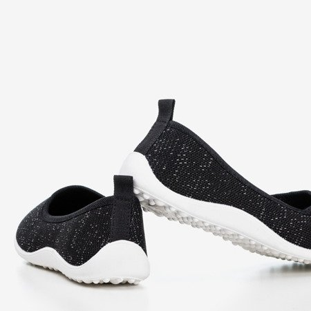 Calicija Black Women's Slip-On Sneakers - Footwear