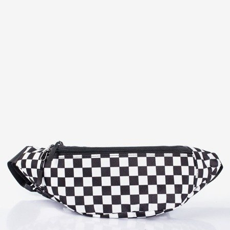 Checkered small waist bag - Handbags