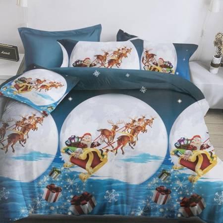 Christmas bedding set 140x200 2-pieces - bed linen