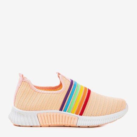 Coral women's slip-on sport shoes - on Rainbow - Footwear 1
