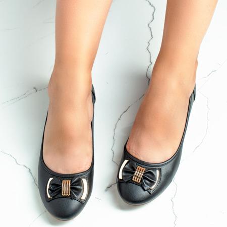 Gascon black bow ballerinas - Footwear