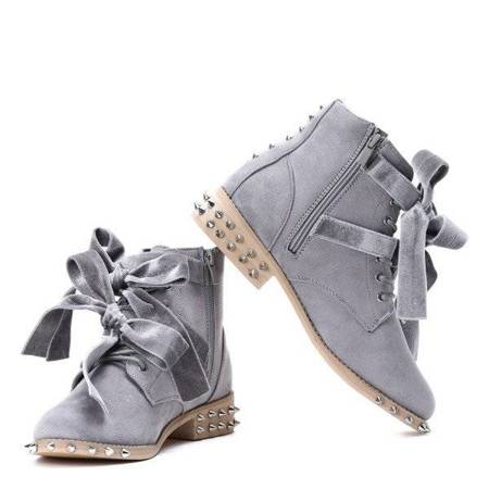Grey, suede with studs workery Paisley - Shoes