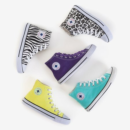 High women's sneakers in animal print Inter - Footwear