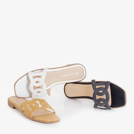 Inasa women's light brown slippers - Footwear