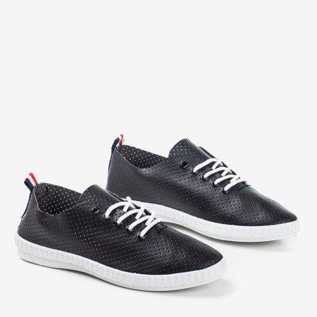 Krevella Black Sport Sneakers - Footwear 1
