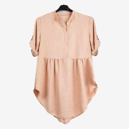 Ladies tunic in beige - Blouses 1