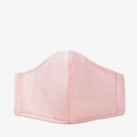 Light pink 3-ply face mask - Masks