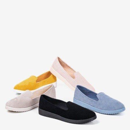 Light pink Verinda openwork loafers - Shoes 1
