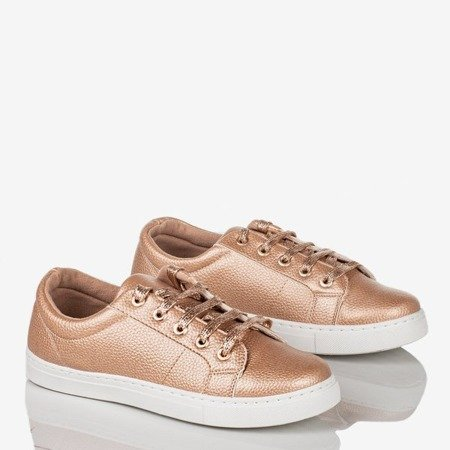 Natali women's rose gold sports shoes - Footwear 1