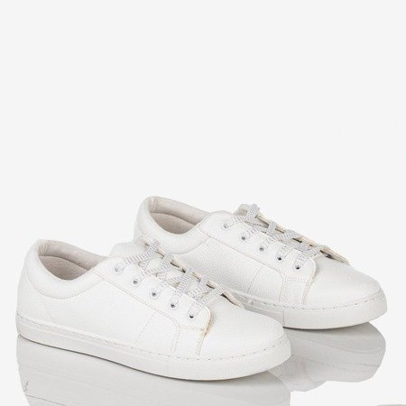 Natali women's white sports shoes - Footwear 1