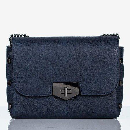 Navy small shoulder bag - Handbags 1