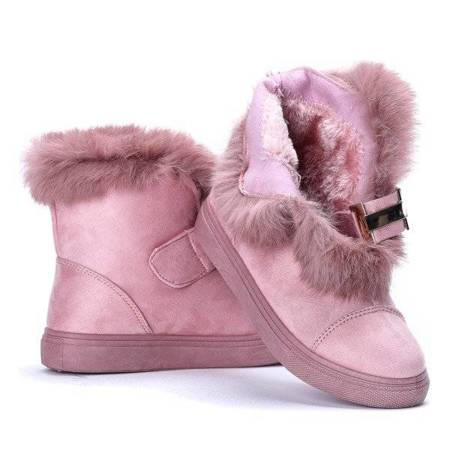 OUTLET Beatris' pink snow boots - Footwear