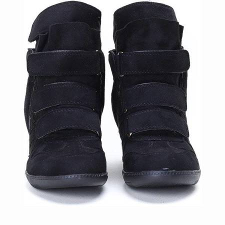OUTLET Black Barbra wedge sneakers - Footwear