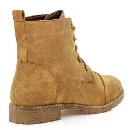 OUTLET Boots-camel color - Footwear