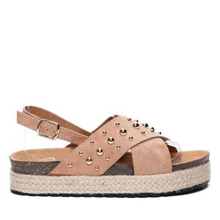 OUTLET Brown sandals - Shoes
