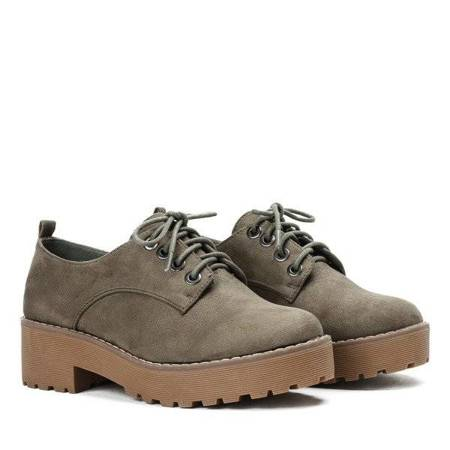 OUTLET Busento green oxford shoes - Footwear