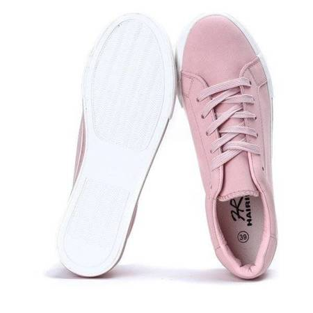 OUTLET OUTLET Sports shoes made of ecological leather Elia - Footwear