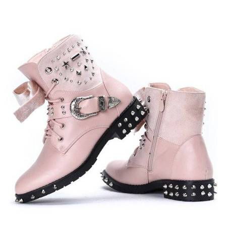 OUTLET Pink Adelynn studded bags - Shoes