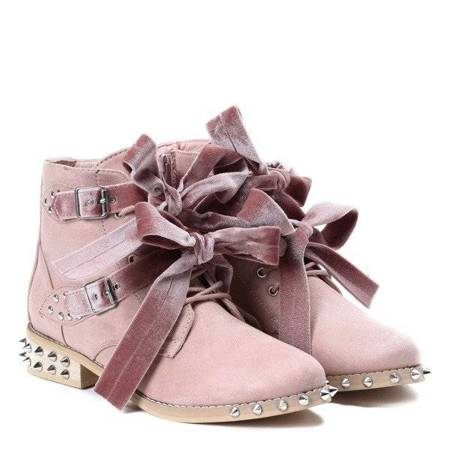 OUTLET Pink Millerro studded bags - Shoes