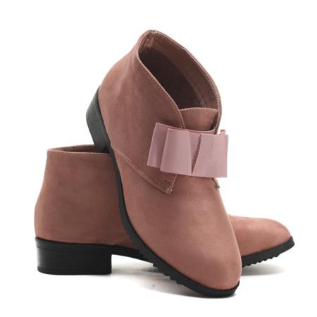 Pink suede boots Seanna - Footwear