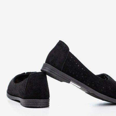 Rewita black openwork loafers - Footwear