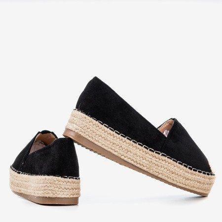 Roseanne black espadrilles - Footwear