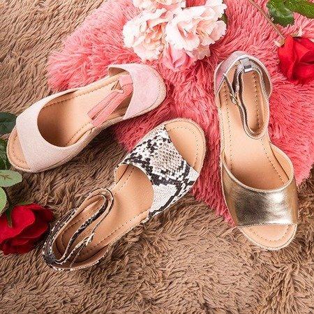 Snake women's sandals a'la espadrilles Truly Yours - Footwear 1
