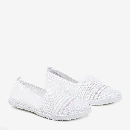 White slip-on sneakers Yeqa - Footwear 1