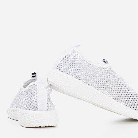White women's slip-on sport shoes - on Poliea - Footwear 1