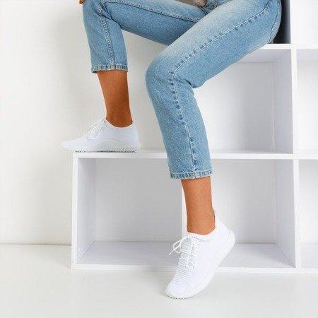 White women's sports shoes Noven - Footwear 1