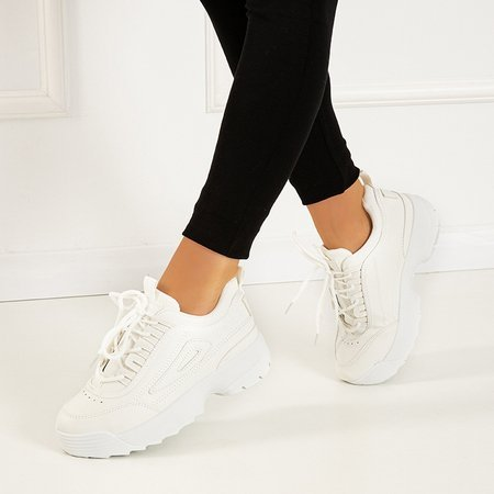 White women's sports shoes The Moment - Footwear 1