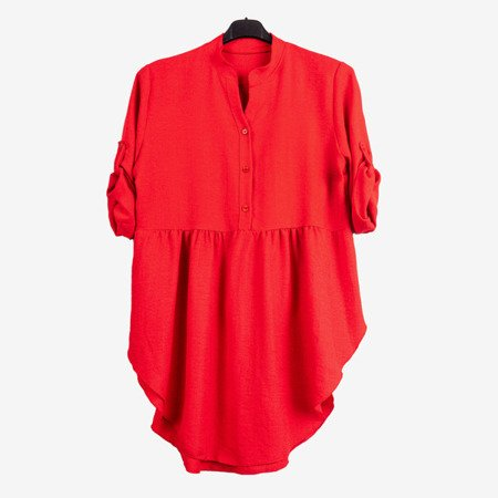 Women's tunic in red - Blouses 1