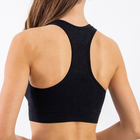 Women's Black Sports Bra - Underwear