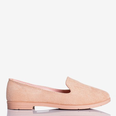 Women's pink moccasins eco-suede Mossolia - Footwear 1