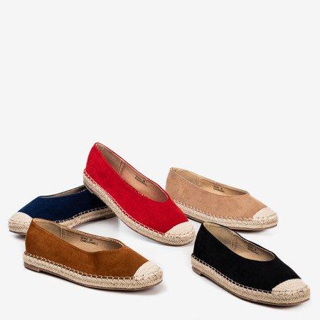 Women's red espadrilles Lalina - Footwear