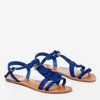 Cobblestone sandals with fringes Minikria - Footwear 1