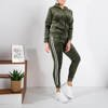 Women's green insulated tracksuit set - Clothing