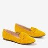 Yellow loafers for women Loures - Footwear 1